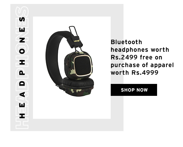 Free Bluetooth Headphones worth Rs.2499 with Purchase